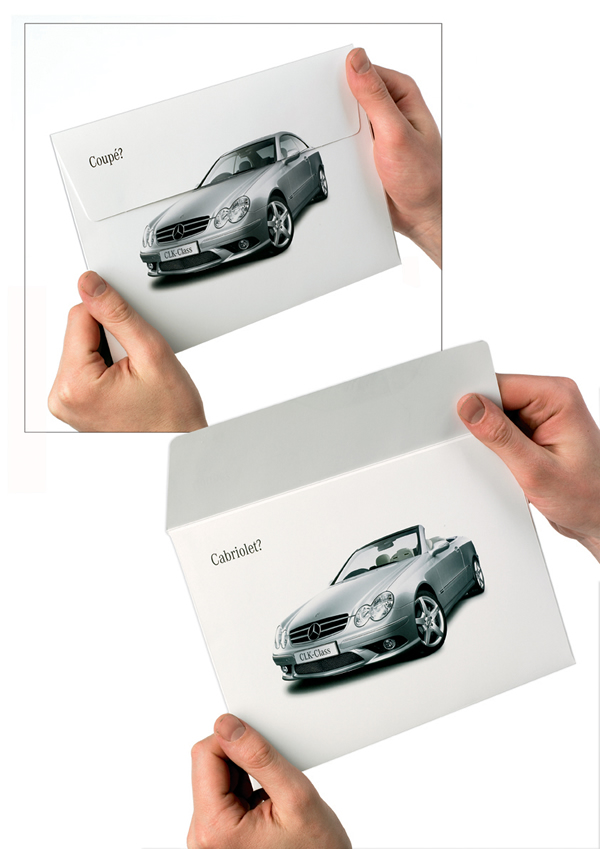Mercedes - Direct Mail